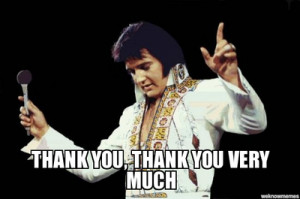 Elvis Thank You